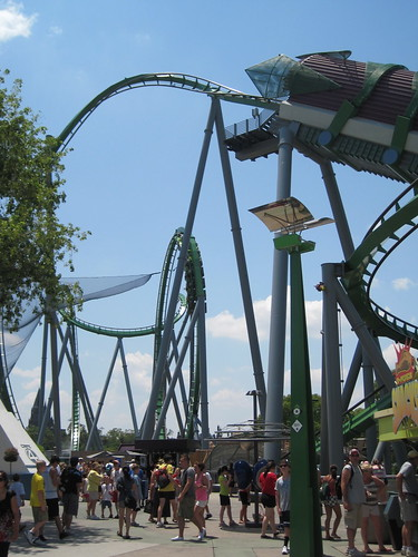 Marvel Super Hero Island:  Incredible Hulk Rollercoaster