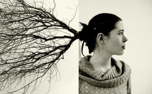 georgia and the tree