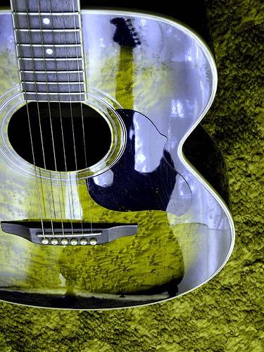 reflejo guitarra