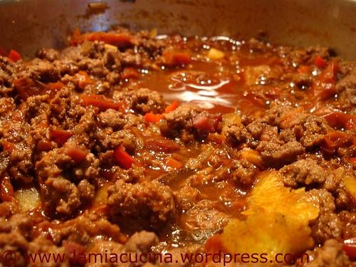 Chili con carne vor Bohnenzugabe
