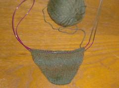 Wyvern Socks - Sock #1 Toe