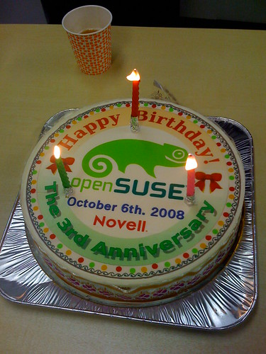 3rd Anniversary of openSUSE