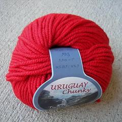 Uruguay Chunky red