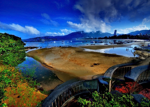 Patong Beach in HDR - Phuket