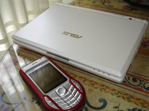 Comparación con un Nokia 6630