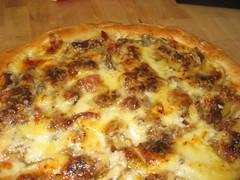 bacon apple pizza