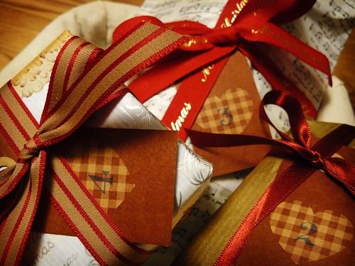 Frida's Advent calendar for the Advent Sundays
