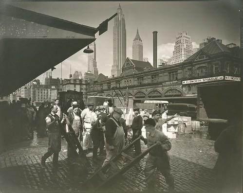 Fulton Street Fish Market, Manhattan.