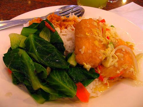 Nasi Kandar with Japanese Tofu
