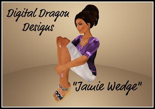 "Shoe Expo - Digital Dragon Designs ""Jamie Wedge"""