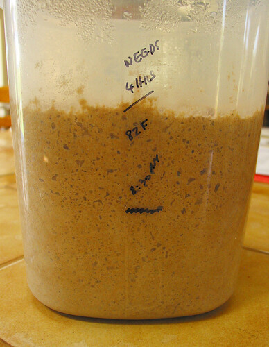 3-stage-process rye dough