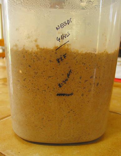 3-stage-process rye dough