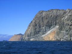 Striated Rock on Isla Guadalupe