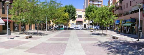Panorámica de la Plaza de España