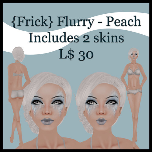 {Frick} flurry - peach