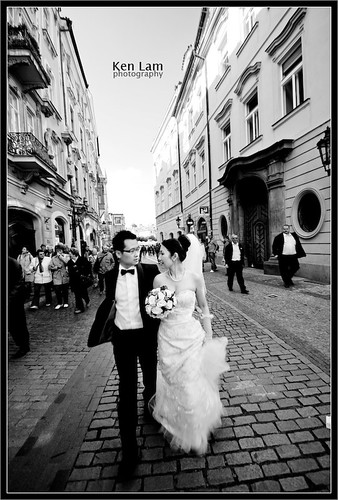 Pre-wedding in Prague - Ken Lam photography by you.