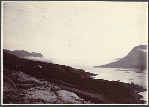 Entrance to Seyðisfjörður.