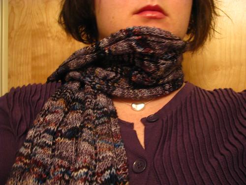 Jitterbug Lace Ribbon Scarf