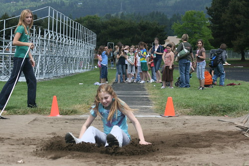 Hayley long jump land
