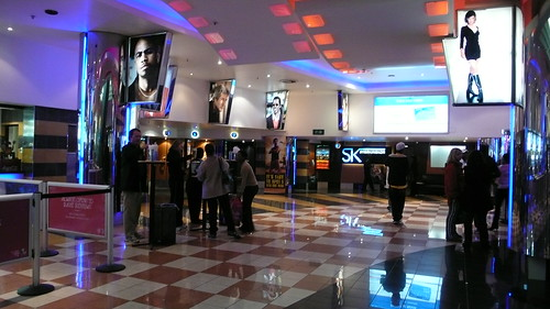 Cinema in the Sandton mall