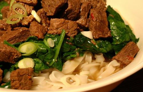 Cinnamon Beef Noodles