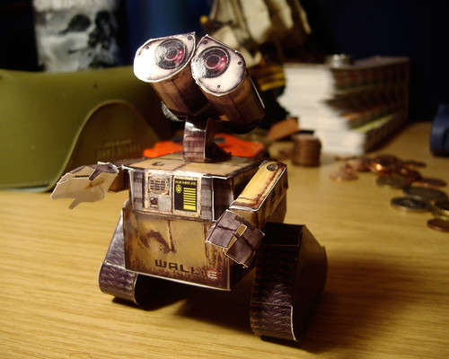 wall-e by you.
