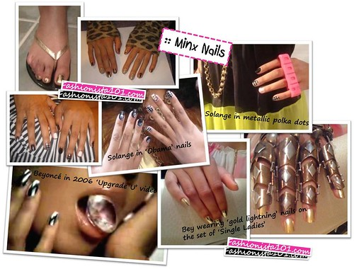 More examples of Minx Nails.