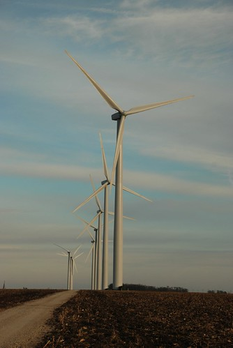 Wind Turbines Near Greene Iowa