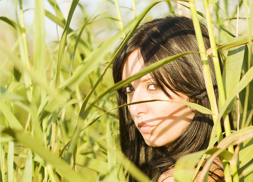 Steph in the Reeds