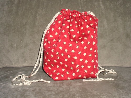 Red drawstring bag again