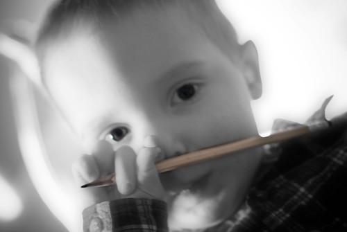 pencil baby