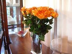 Fresh roses - my favorite!
