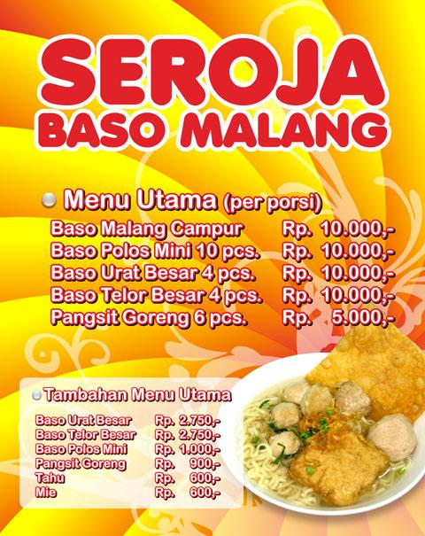 Seroja Baso Malang Asia Digital Print