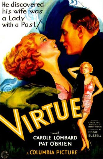 Poster - Virtue - 1932