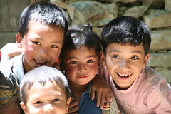 Children in Ladakh, India