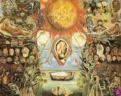 Frida Kahlo. Moisés o Núcleo solar, 1945.