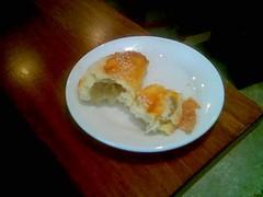 Sibu's MFT Dimsum - durian pastry inside