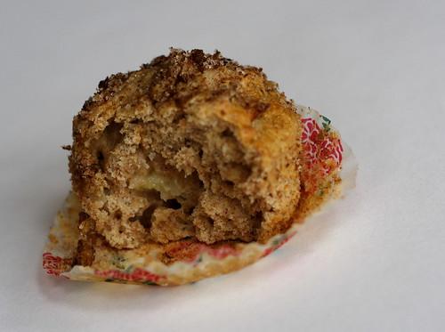 Muffin guts!