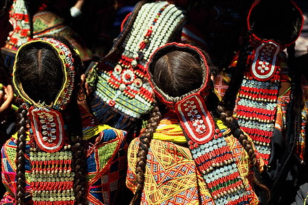 Kalash Girls, Chitral (Pakistan)