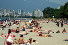Canada Day at Kits Beach