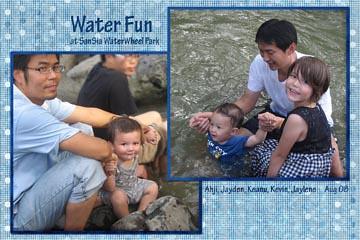 water fun webcopy