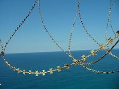 Al gate di Ras Naqoura, unico passaggio tra Israele e Libano. Foto di Raffaella Cosentino