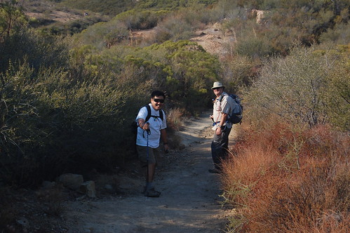 Ken and Jeff along the trail