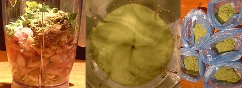 Making Green Thai Curry Paste