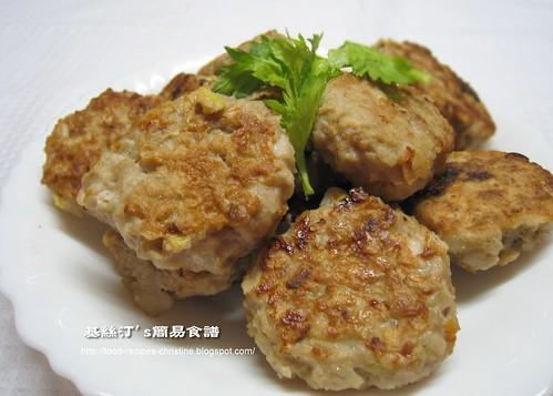 爽脆的香煎藕餅   簡易食譜 - 基絲汀: 中西各式家常菜譜