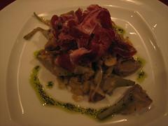 Restaurante 3_Alcachofas salteadas