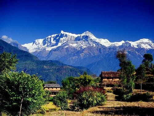 Village in Annapurna Range [Pokhara]