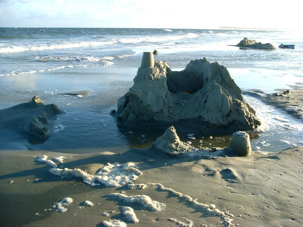 The infamous sand castle