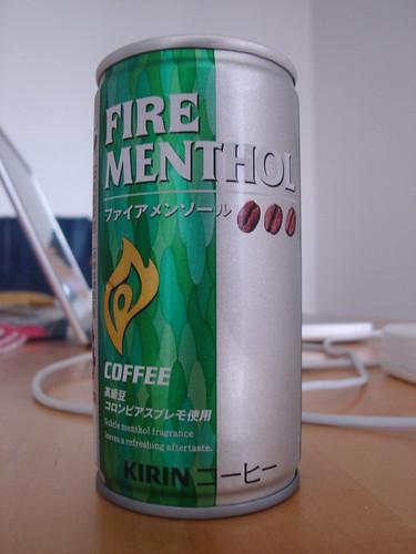 Kirin Fire Menthol Coffee
