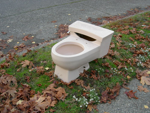 Parking strip potty